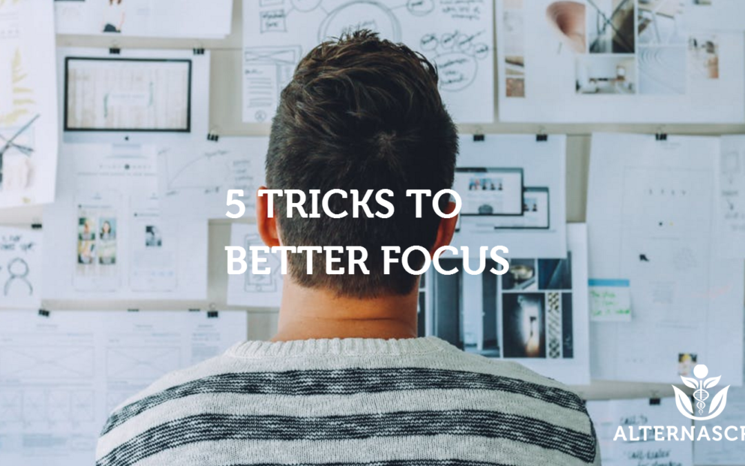 5 Tricks to Better Focus And Productivity Hacks